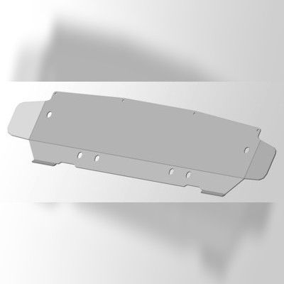 Защита радиатора (алюминий)