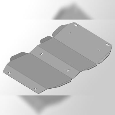 Защита картера (алюминий) 4 мм (H3 Turbo)