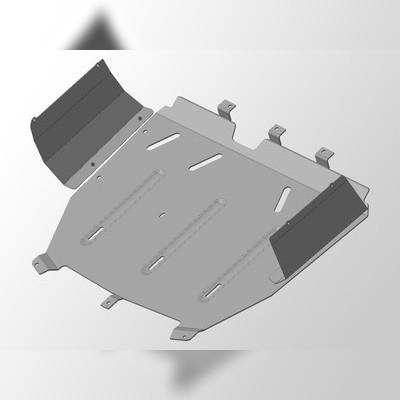 Защита картера (алюминий) 4 мм