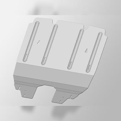 Защита моторного отсека передняя (алюминий) 4 мм