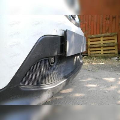 """Защита радиатора нижняя, модель """"Стандарт черная"""" для авто с штатным парктроником"""