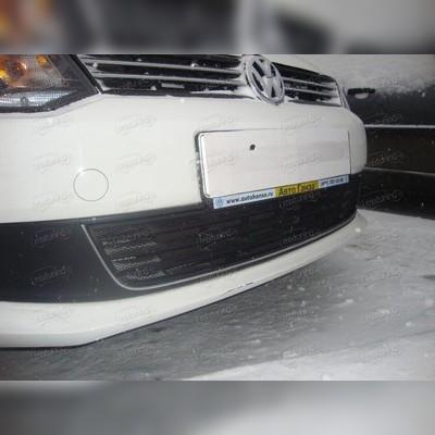 """Защита радиатора нижняя, модель """"Стандарт черная"""" для кузова (Sedan)"""