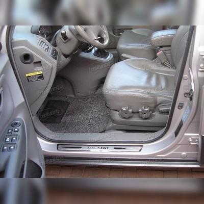 Накладки на пороги (лист с названием модели автомобиля)