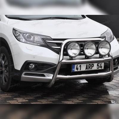 """Защита переднего бампера высокая, модель """"Kungsbacka"""""""