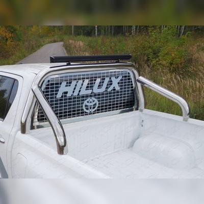 Защитная дуга в кузов, с защитой заднего стекла d76.1 мм