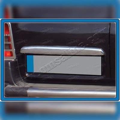 Накладка над номером на багажник