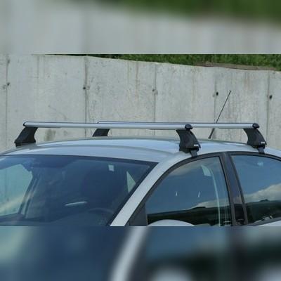 Багажник в сборе для автомобиля без рейлингов (аэродинамический профиль дуги)