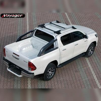 """Защитная дуга в кузов, модель """"Proguard"""" (Серебристые)"""