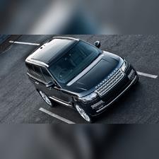 Рейлинги Land Rover Range Rover 2013 - нв (OEМ) серебро