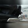 Защита переднего бампера (овальная двойная)