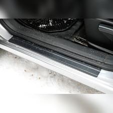 Накладки на внутренние пороги дверей Nissan Qashqai 2006-2014