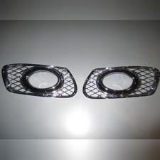 Накладки на противотуманные фары (хром)
