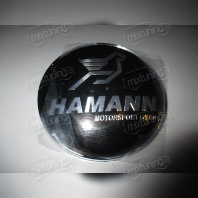 """Эмблема капота """"HAMANN"""" d 82mm"""
