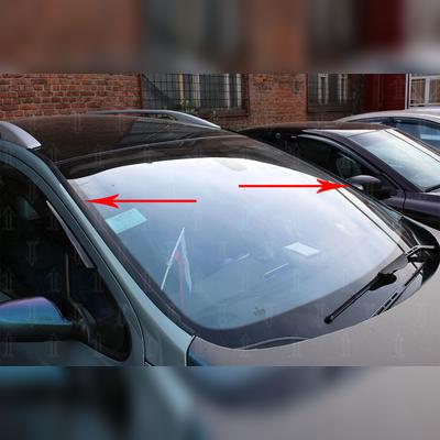 Водосток лобового стекла (для авто с рейлингами)
