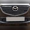"""Защита радиатора верхняя, модель """"Optimal Black"""" для авто с штатными парктрониками"""