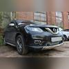"""Защита радиатора нижняя, модель """"Optimal Chrome"""" для авто с штатными парктрониками"""