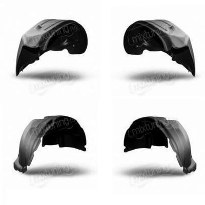 Комплект защит колесных арок