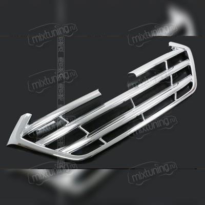 Декоративная накладка на решётку радиатора (хром)