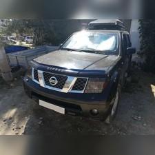 Дефлектор капота Nissan Pathfinder 2005 - 2010 (темный)