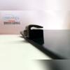 Дефлектор капота (темный с логотипом)