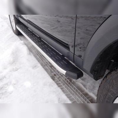 Пороги алюминиевые с пластиковой накладкой (1820 мм)