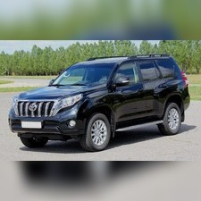 Рейлинги на Land Cruiser Prado 150 (черные)