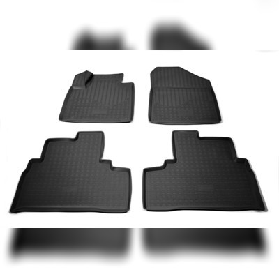 Коврики в салон (черные) Kia Sorento Prime 2015-нв