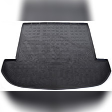 Коврик в багажник, 7 мест (черный)