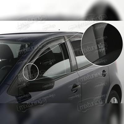 Дефлекторы боковых окон (задние)