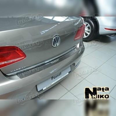 """Накладка на задний бампер, модель """"Premium"""" для кузова седан (B8)"""