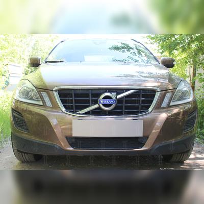 """Защита радиатора нижняя, модель """"Optimal Black"""" для автомобиля с штатным парктроником"""