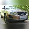 """Защита радиатора нижняя, модель """"Optimal Chrome"""" для автомобиля с штатным парктроником"""