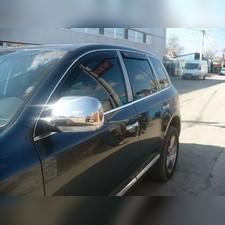 Дефлекторы, ветровики окон вставные (дымчатные), на кузов внедорожник 5d