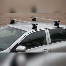 Багажник на крышу (прямоугольные поперечины), для кузова седан