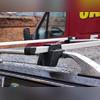 Багажник на рейлинги, серебристый (эконом-класса), длинна поперечин 125 см