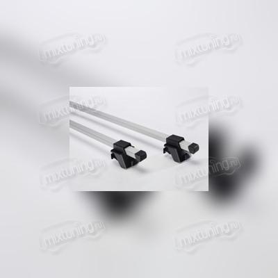 Багажник на рейлинги, серебристый (эконом-класса), длинна поперечин 135 см