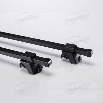 Багажник на рейлинги, черный (эконом-класса), длинна поперечин 110, 125, 135 см