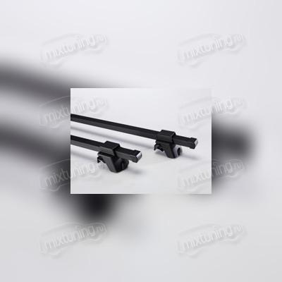 Багажник на рейлинги, черный (эконом-класса), длинна поперечин 125 см
