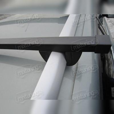 """Багажник на рейлинги прямоугольный """"Крепыш"""", длинна поперечин 130 сантиметров."""