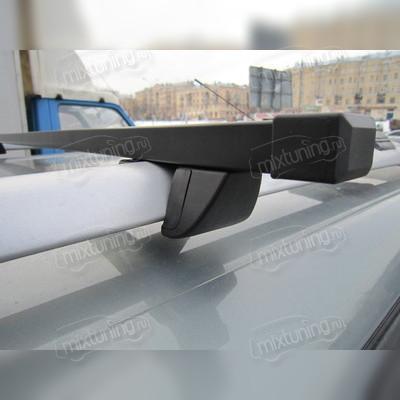 """Багажник на рейлинги прямоугольный """"Крепыш"""", длинна поперечин 140 сантиметров."""