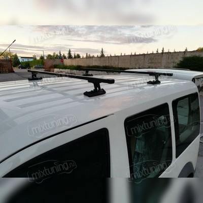Багажник на крышу в штатные места, на специальные кронштейны (прямоугольные поперечины)