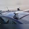 Багажник на крышу в штатные места, c дополнительной фиксацией винтами (прямоугольные поперечины)