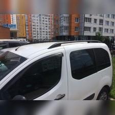 Рейлинги продольные купить Peugeot Partner Tepee 2008 - нв (черного цвета)