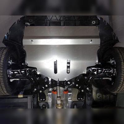 Защита картера (алюминий) 4мм, на фото представлен образец.