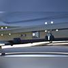 """Бокс на крышу аэродинамический черный матовый """"Turino 1"""" (одностороннее открытие)"""