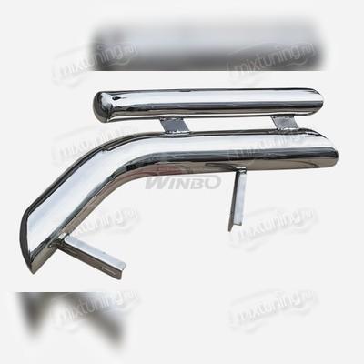 Защита задняя (уголками двойные) d76/50 мм, для модели H3
