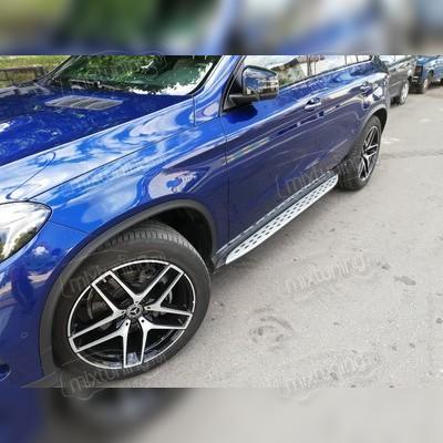 Пороги, подножки, ступени Mercedes-Benz GLE Coupe C292 2015-2019 (OEM)