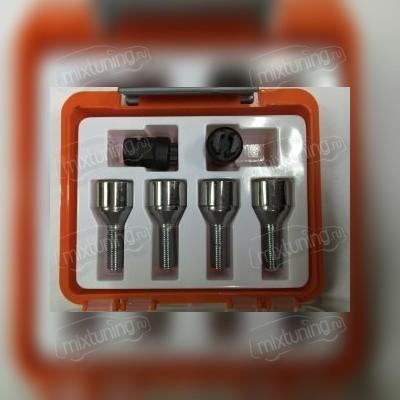 Секретный болт 12х1,25х28 (литой диск, оранжевая коробочка)