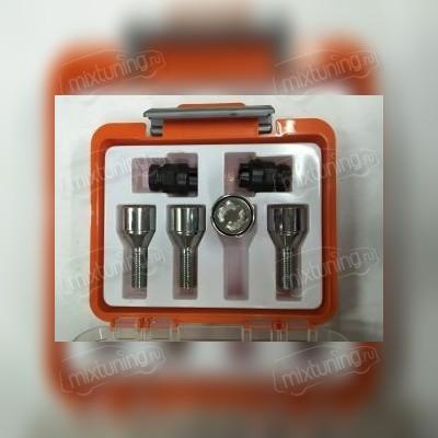 Секретный болт 12х1,5х28 (литой диск оранжевая коробочка)