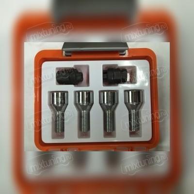 Секретный болт 14х1,5х28 (литой диск оранжевая коробочка)